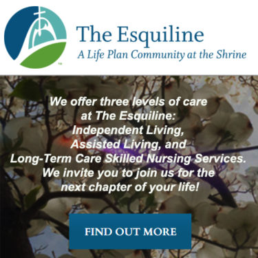 The Esquiline KTRS Rotating Web Ad
