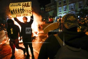 Unrest Overshadows Peaceful US Protests for Another Night