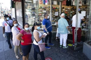 'All eyes' on New York: Reopening tests city torn by crises