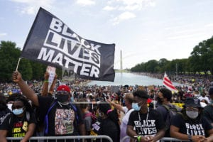 Thousands gather at March on Washington commemorations