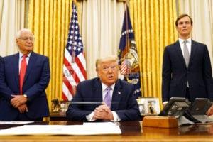 Trump says UAE to open diplomatic ties with Israel