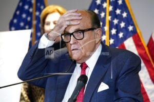 AP source: Feds execute warrant at Rudy Giuliani's NYC home
